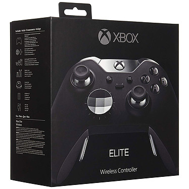 Microsoft Xbox One Elite Wireless Controller Noir pas cher
