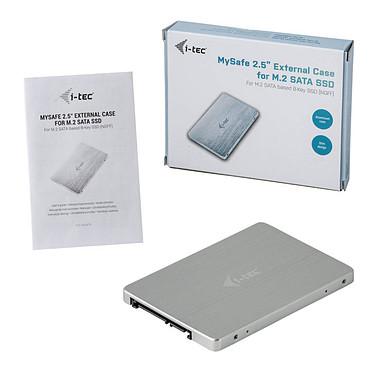 i-tec MySafe SATA M.2 Drive Metal External case 6 Gbps pas cher