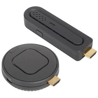 Optoma QuickCast Starter Kit Système de présentation sans fil sur port HDMI avec transmetteur et récepteur