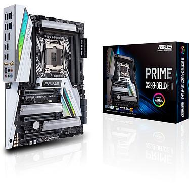 ASUS PRIME X299-DELUXE II Carte mère ATX Socket 2066 Intel X299 Express - 3x PCI-Express 3.0 16x - Wi-Fi AC/Bluetooth 5.0/LAN 5 GbE - M.2 - Thunderbolt 3