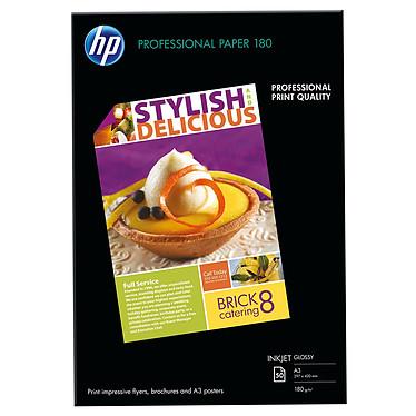 HP Professional C6821A  Papier brillant pour brochures et flyers A3 - 50 feuilles