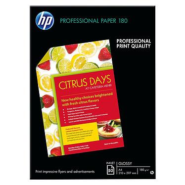 HP Professional C6818A Papel brillante para folletos y volantes A4 - 50 hojas