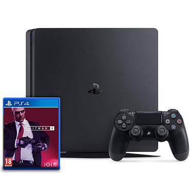 Sony PlayStation 4 Slim (500 Go) + Hitman 2