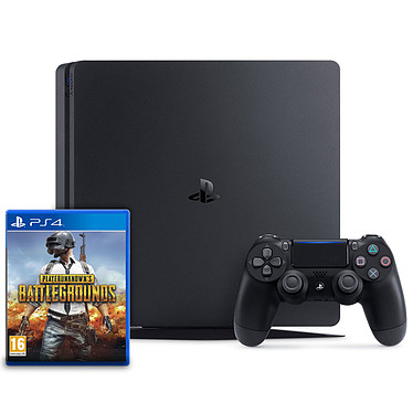 Sony PlayStation 4 Slim (1 To) + PLAYERUNKNOWN'S BATTLEGROUNDS (PUBG)