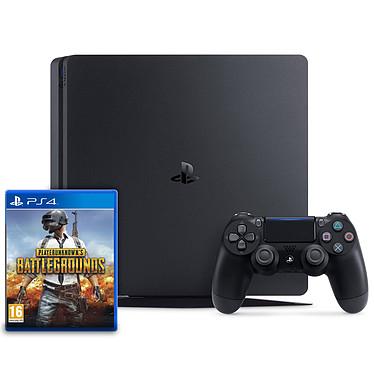 Sony PlayStation 4 Slim (1 To) + PLAYERUNKNOWN'S BATTLEGROUNDS (PUBG) Console de jeux-vidéo nouvelle génération avec disque dur 1 To et manette sans fil + jeu PLAYERUNKNOWN'S BATTLEGROUNDS