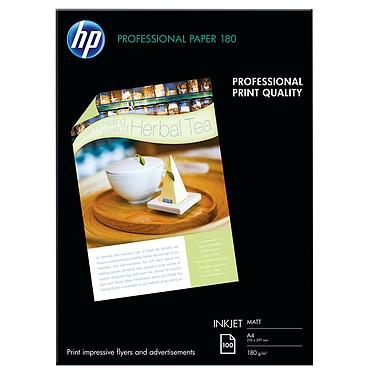 HP Professional Mat Q6592A Papier mat pour brochures et flyers A4 - 100 feuilles