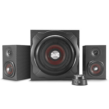 Speedlink Gravity Carbon Enceintes 2.1 60 Watts avec technologie Bluetooth