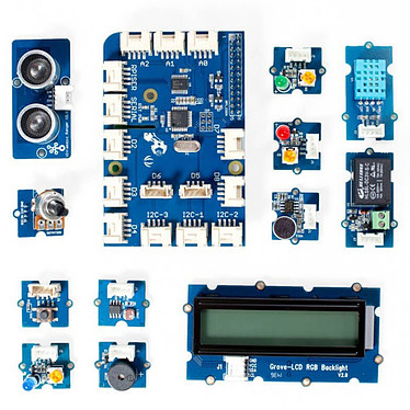 Dexter Industries Grove Pi+ Starter Kit Kit de démarrage IoT pour Raspberry Pi
