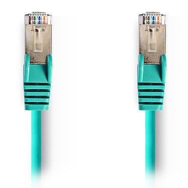 Nedis RJ45 categoría de cable 5e SF/UTP 1,5 m (Verde) Cat 5e SF/UTP Cable de red RJ45 macho / RJ45 macho - 1,5 metros