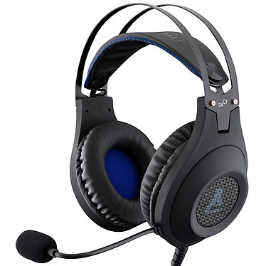 The G-Lab KORP Chromium Casque-micro pour gamer avec microphone flexible