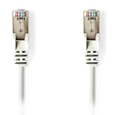Nedis RJ45 categoría de cable 5e SF/UTP 7,5 m (Blanco) Cat 5e SF/UTP Cable de red RJ45 macho / RJ45 macho - 7,5 metros