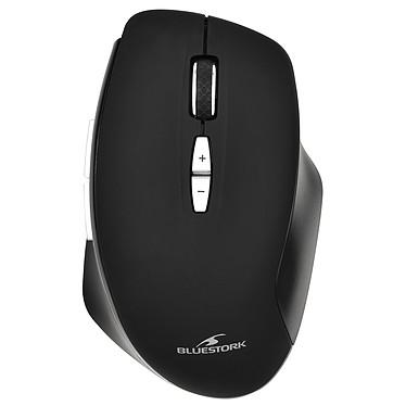 Bluestork Rechargeable Silent Wireless Mouse Souris optique sans fil silencieuse avec nano-récepteur USB