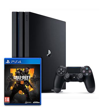 Sony PlayStation 4 Pro (1 To) + Call of Duty : Black Ops 4 Console de jeux-vidéo Ultra HD 4K avec disque dur 1 To et manette sans fil + jeu Call of Duty : Black Ops 4