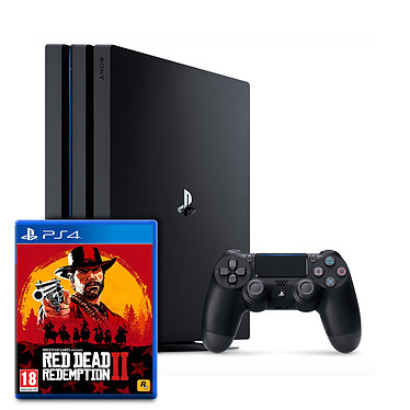 Sony PlayStation 4 Pro (1 To) + Red Dead Redemption 2