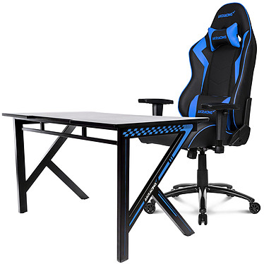 AKRacing Gaming Setup SX Bleu