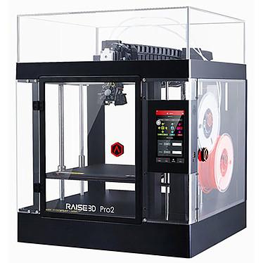 """Raise3D Pro2 Imprimante 3D couleur à 2 têtes d'impression PLA / ABS / HIPS / PC / TPU / TPE / NYLON / PETG / ASA / PP / PVA / Glass Fiber Filled / Carbon Fiber Enforced / Metal Particles Filled / Wood Filled - (USB/Ethernet/Wifi) - Ecran tactile 7"""""""