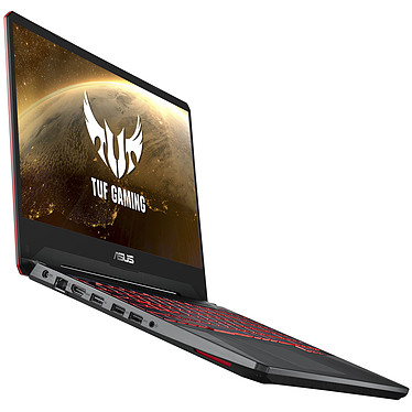 "ASUS TUF505DY-BQ024 AMD Ryzen 5 3550H 8 Go SSD 512 Go 15.6"" LED Full HD AMD Radeon RX560X 4 Go Wi-Fi AC/Bluetooth Webcam Sans OS"