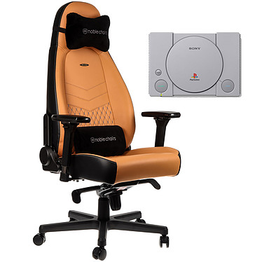 Noblechairs Icon Cuir (cognac) + PS Classic OFFERTE !