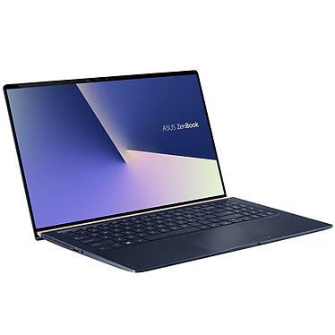 "ASUS Zenbook 15 UX533FD-A9043T Intel Core i7-8565U 8 Go SSD 256 Go 15.6"" LED Full HD NVIDIA GeForce GTX 1050 2 Go Wi-Fi AC/Bluetooth Webcam Windows 10 Famille 64 bits (garantie constructeur 2 ans)"
