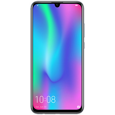 "Honor 10 Lite Noir Smartphone 4G-LTE Advanced Dual SIM - Kirin 710 8-Core 2.2 GHz - RAM 3 Go - Ecran tactile 6.21"" 1080 x 2340 - 64 Go - Bluetooth 4.2 - 3400 mAh - Android 9.0"