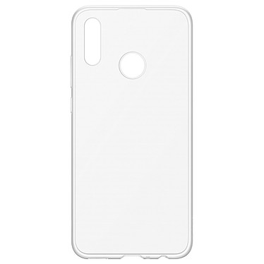 Huawei Coque Transparente P Smart 2019 Coque arrière rigide pour Huawei P Smart 2019