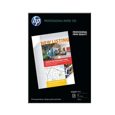 HP Professional Mat Q6594A Papier mat 120 g/m² pour brochures et flyers A3 - 100 feuilles