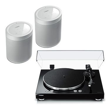Yamaha MusicCast VINYL 500 Noir + Yamaha MusicCast 20 Blanc