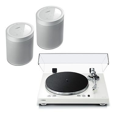 Yamaha MusicCast VINYL 500 Blanc + Yamaha MusicCast 20 Blanc