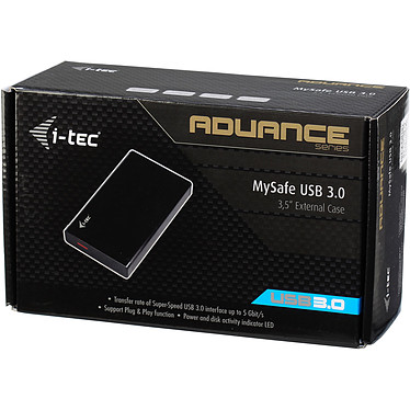 "i-tec MySafe Advance Black 3.5"" USB 3.0 pas cher"