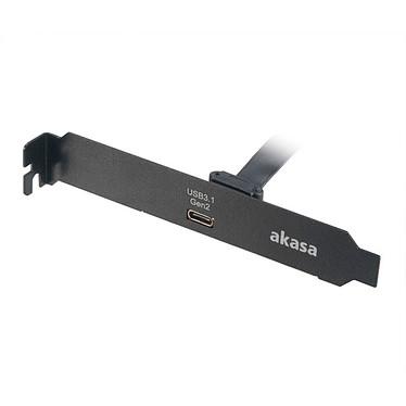 Akasa Adaptateur USB 3.1 Type-C Gen2 Equerre PCI USB 3.1 Type-C Gen2 (0,5 m)