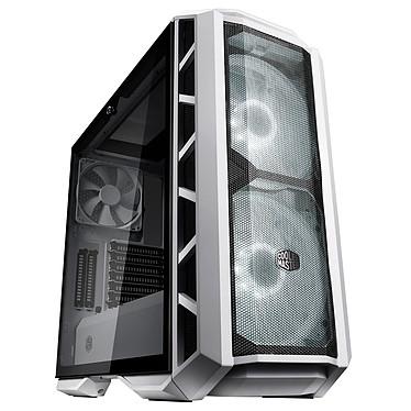 Cooler Master MasterCase H500P - Blanc Boîtier Moyen Tour Noir avec fenêtre en verre trempé