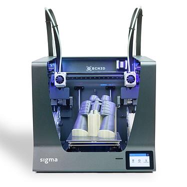 BCN3D Sigma R19 Imprimante 3D couleur à 2 têtes d'impression PLA / ABS / Nylon / PET-G / TPU / PVA / Composites / Autres - USB/Carte SD