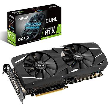 ASUS GeForce RTX 2060 DUAL-RTX2060-O6G 6 Go GDDR6 - Dual HDMI/Dual DisplayPort/DVI - PCI Express (NVIDIA GeForce RTX 2060)