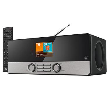 Hama DIR3100MS Noir Radio numérique connectée FM/DAB/DAB+ multiroom avec Wi-Fi, DLNA et USB - 2 x 5W