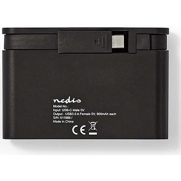 Nedis Hub USB-C vers USB 3.0 (TCARF200BK) pas cher
