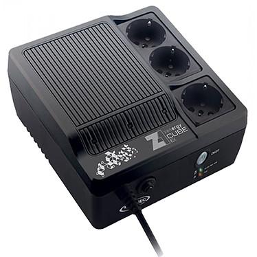 Infosec Z1 Zenergy Cube EX 600 Onduleur haute fréquence 600 VA avec 3 prises