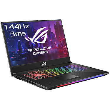 "ASUS ROG Strix Scar II G715GW-EV001T Intel Core i7-8750H 16 Go SSD 256 Go + SSHD 1 To 17.3"" LED Full HD 144 Hz NVIDIA GeForce RTX 2070 8 Go Wi-Fi AC/Bluetooth Webcam Windows 10 Famille 64 bits (garantie constructeur 2 ans)"