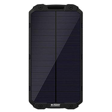 Urban Factory Power Bank Sunee 15 000 mAh USB-A Batterie de secours solaire et anti-chocs avec ports micro-USB / USB-A (compatible tablette, smartphone...)