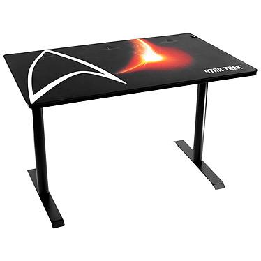Arozzi Arena Leggero Star Trek Edition Escritorio de jugador con sistema de gestión de cables e impermeable