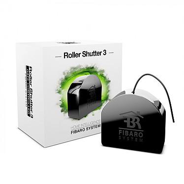 Fibaro Shutter 3 FGR-223 Micromodule pour volet roulant radio commandé Z-Wave Plus pour automatismes Fibaro