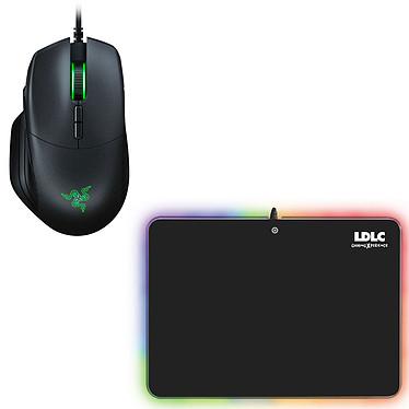 Razer Basilisk + LDLC RGB PAD