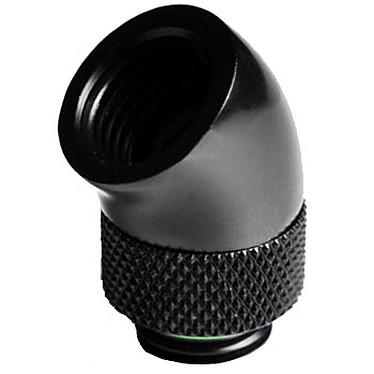 Barrow Embout à 45° rotatif pour tube rigide de 12mm - Noir