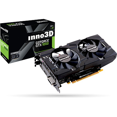 INNO3D GeForce GTX 1050 Twin X2 3 Go