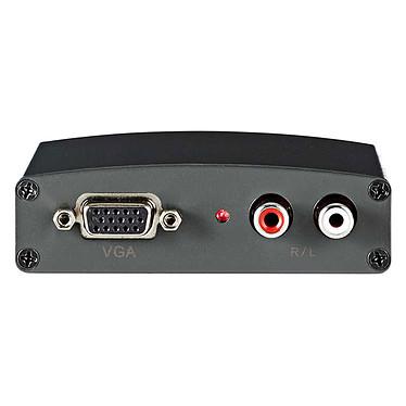 Nedis Convertisseur VGA vers HDMI Convertisseur VGA vers HDMI + Audio