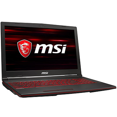 "MSI GL63 9SE-815FR Intel Core i7-9750H 16 Go SSD 512 Go 15.6"" LED Full HD 120 Hz NVIDIA GeForce RTX 2060 6 Go Wi-Fi AC/Bluetooth Webcam Windows 10 Famille 64 bits"