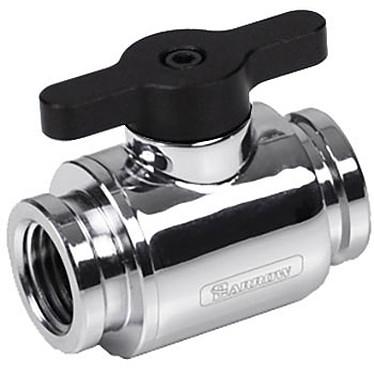 Barrow Mini valve TLQFS-V1 - argent Mini valve argent avec poignée noire