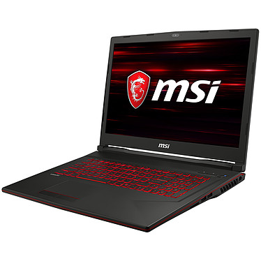 "MSI GL73 8SE-017XFR Intel Core i7-8750H 16 Go SSD 256 Go + HDD 1 To 17.3"" LED Full HD NVIDIA GeForce RTX 2060 6 Go Wi-Fi AC/Bluetooth Webcam FreeDOS"