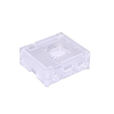 Boitier pour Raspberry Pi 3 A+ avec support Ventilateur (Transparent) Boîtier en plastique transparent pour carte Raspberry Pi 3 A+ avec support Ventilateur