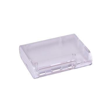 Boitier pour Raspberry Pi B/2/3B/3B+ (Transparent) Boîtier en plastique transparent pour carte Raspberry Pi B/2/3B/3B+