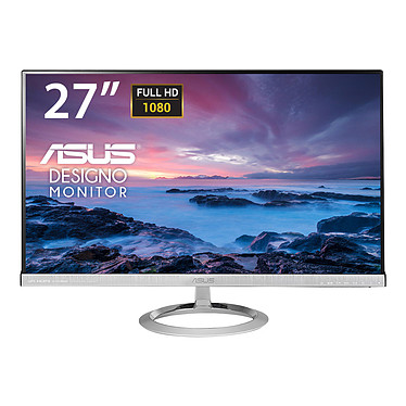 """ASUS 27"""" LED - Designo MX279H 1920 x 1080 pixels - 5 ms (gris à gris) - Format large 16/9 - Dalle IPS - Noir (garantie constructeur 3 ans)"""